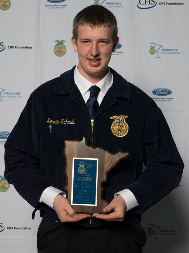 Sheep Production    Derrek Schmidt    Sibley East    Sponsored by: Curt Youngs
