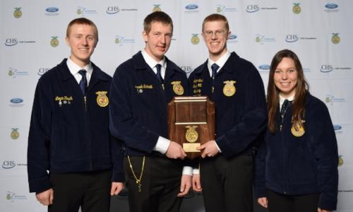 Farm & Agribusiness Management    Sibley East FFA Chapter    Sponsor: John Deere Company