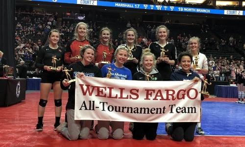 2018-19 Class AA Volleyball All-Tournament Team