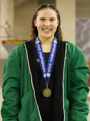 50 Freestyle   Lily Gremmels   Edina   Photo Courtesy Of:  MN Prep Photo