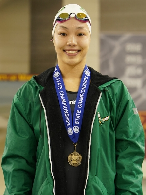 500 Freestyle   Claudia Chang   Edina   Photo Courtesy Of:  MN Prep Photo