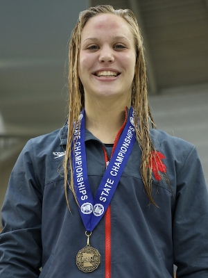 200 Freestyle    Taylor Williams    Benilde St. Margaret's   Photo Courtesy Of:  MN Prep Photo