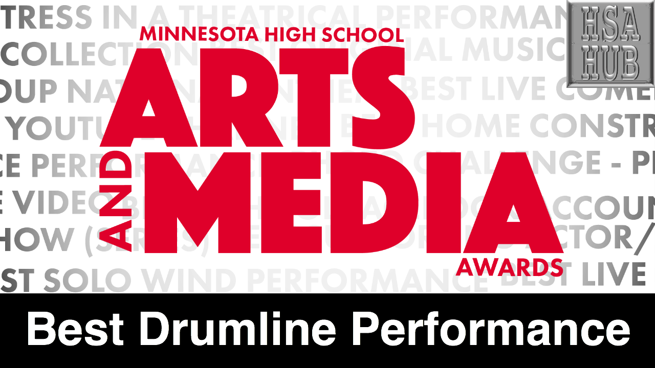 12. Best Drumline Performance    Rules & Guidelines     Sample Video:   Minnetonka High School