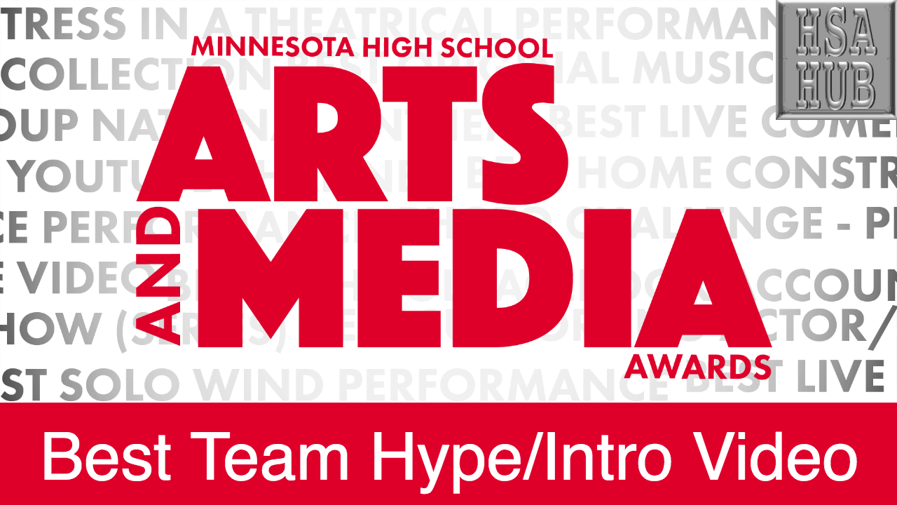 37. Best Team Hype/Intro Video   Rules and Guidelines    Sample Video:    Maddie Uglum '18 - Minnetonka