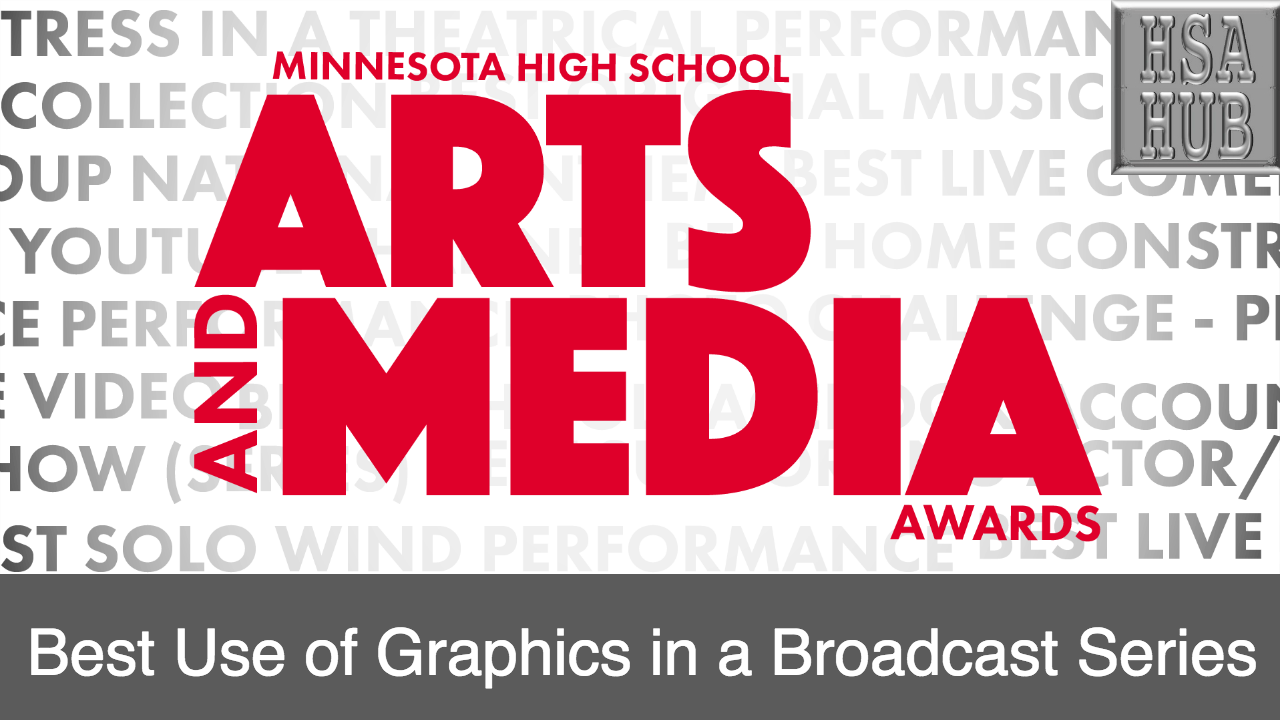 50. Best Use of Graphics in a Broadcast Series   Rules and Guidelines    Sample Video:   Eastview High School