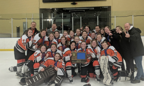 White Bear Lake | Section 4AA Champion    Roster  |  Schedule / Results  |  Website  |  Media Guide    Team Twitter  |  School Twitter  |  Students Twitter  | Team FB |  School FB   Quarterfinal result:  L, 0-4  vs. Brainerd/Little Falls  Consolation Semifinal result:  L, 1-2  vs. Farmington