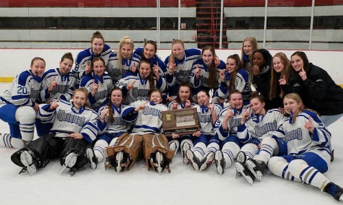 #3 Brainerd/Little Falls | Section 8AA Champion    Roster  |  Schedule / Results  | Website |  Media Guide  |  LF Instagram    Team Twitter  |  Brainerd Twitter  |  Little Falls Twitter  |  Team FB  |  LF FB  |  Brainerd FB   Quarterfinal result:  W, 4-0  vs. White Bear Lake  Semifinal result:  W, 3-2 (OT)  vs. Andover