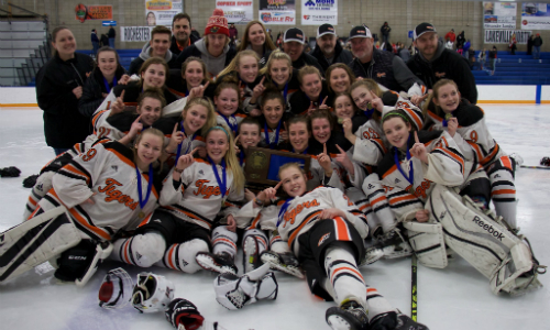 Farmington | Section 1AA Champion    Roster  |  Schedule / Results  |  Website  |  Media Guide    Team Twitter  |  School Twitter  | Students Twitter | Team FB |  School FB  |  Instagram    Farmington Independent Story   Quarterfinal result:  L, 1-7  vs. Andover  Consolation Semifinal result:  W, 2-1  vs. White Bear Lake