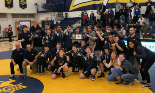 Mahtomedi  |  Section 4AA Champion   Roster  |  Schedule / Results  |  Website    Team Twitter  |  School Twitter  | Students Twitter | Team FB |  School FB    White Bear Press Story