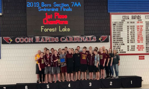 Forest Lake  | Section 7AA Champion    Roster  |  Schedule / Results  |  Website   Team Twitter |  School Twitter  |  Students Twitter  |  Team FB  |  School FB