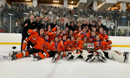 #4 Delano | Section 2A Champion    Roster  |  Schedule / Results  |  Website  |  Media Guide    Team Twitter  |  School Twitter  | Students Twitter | Team FB |  School FB   Quarterfinal result:  L, 4-6  vs. Greenway  Consolation Semifinal result:  W, 2-1  vs. New Ulm