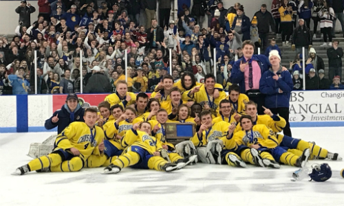 #2 St. Cloud Cathedral | Section 6A Champion    Roster  |  Schedule / Results  |  Website  |  Media Guide    Team Twitter  |  School Twitter  |  Student Twitter  | Team FB |  School FB    SC Times Story   Quarterfinal result:  W, 7-0  vs. North Branch  Semifinal result:  W, 6-2  vs. East Grand Forks