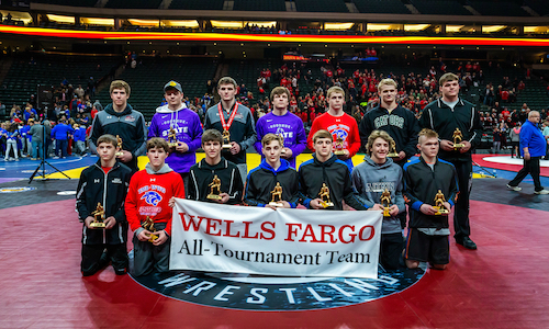 2017-18 Class A All-Tournament Team    Names of team members   Photo credit:   MN Prep Photo