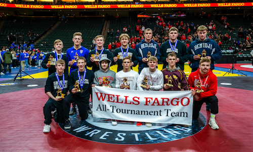 2017-18 Class AAA All-Tournament Team    Names of team members   Photo credit:   MN Prep Photo