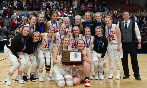 Austin | Section 1AAA Champion    Roster  |  Schedule / Results  | Website |  Media Guide    Team Twitter  |  School Twitter  |  Students Twitter  | Team FB |  School FB  | Instagram  Quarterfinal result:  L, 40-72  vs. Robbinsdale Cooper  Consolation Semifinal result: 44-49 vs. Marshall -  Box Score