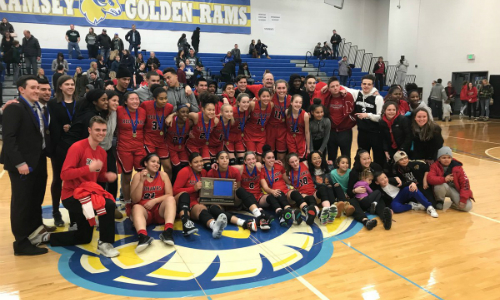 #3 Minnehaha Academy | Section 4AA Champion    Roster  |  Schedule / Results  |  Website  |  Media Guide    Team Twitter  |  School Twitter  |  Students Twitter  | Team FB |  School FB   Quarterfinal result: 56-37 vs. St. Peter -  Box Score   Semifinal result: 70-67 vs. Albany -  Box Score  -  KSTP Video