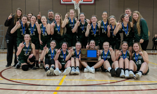 #5 Proctor | Section 7AA Champion    Roster  |  Schedule / Results  |  Website  |  Media Guide    Team Twitter  |  School Twitter  | Students Twitter | Team FB |  School FB    Duluth News Tribune Story   Quarterfinal result: 44-56 vs. Caledonia -  Box Score   Consolation Semifinal result: 41-38 vs. Redwood Valley -  Box Score