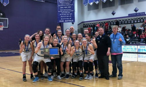 #3 Becker | Section 5AAA Champion    Roster  |  Schedule / Results  | Website |  Media Guide    Team Twitter  |  School Twitter  | Students Twitter | Team FB |  School FB   Quarterfinal result:  W, 68-67  vs. Marshall  Semifinal result: 68-66 win vs Robinsdale Cooper -  Box Score  |  Star Tribune Story
