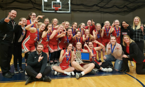 #4 Centennial | Section 5AAAA Champion    Roster  |  Schedule / Results  |  Website  |  Media Guide    Team Twitter  |  School Twitter  |  Students Twitter  | Team FB | School FB | Instagram  Quarterfinal result:  W, 74-64  vs. Maple Grove  Semifinal result vs Hopkins: 47-75 |  Box Score
