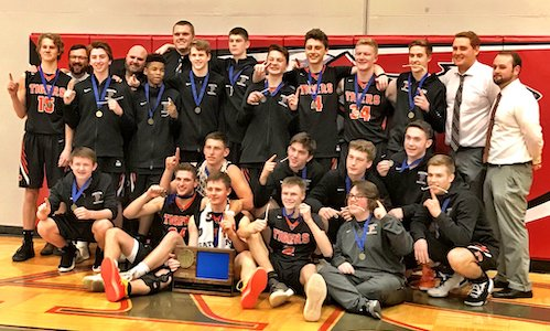 #4 Princeton | Section 7AAA Champion    Roster | Schedule / Results  | Website |  Media Guide    Team Twitter  |  School Twitter  |  Students Twitter  |  Newspaper FB  |  School FB    Quarterfinal result: 68-63 win vs. Mahtomedi -    BOX SCORE    |    Union Times Story     Semifinal result: 54-93 loss vs. DeLaSalle -    BOX SCORE    3rd Place result: 76-88 loss vs Austin