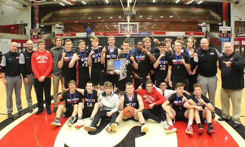 Monticello | Section 5AAA Champion    Roster | Schedule / Results  |  Website  |  Media Guide    Team Twitter  |  School Twitte r |  Students Twitter  |  Team FB  |  School FB    Monticello Times Story    Quarterfinal result: 52-68 loss vs.  Austin  -    BOX SCORE     Consolation Semifinal result: 65-71 loss vs. Holy Angels -    BOX SCORE