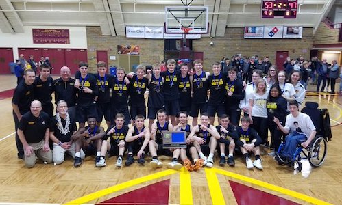 #3 Perham | Section 8AA Champion    Roster | Schedule / Results  | Website |  Media Guide    Team Twitter  |  School Twitter  |  WDC Twitter  |  School FB  |  Alumni FB    Perham Focus Story    Quarterfinal result:  73-58  win vs  Redwood Valley -  BOX SCORE  |  Perham Focus Story   Semifinal result: 46-62 loss vs Minneapolis North -  BOX SCORE   3rd Place result: 47-51 loss vs Lake City -  BOX SCORE
