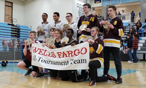 2018-19 Floor Hockey CI Division All-Tournament Team    Names of team members: