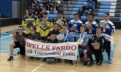 2018-19 Floor Hockey PI Division All-Tournament Team    Names of team members:
