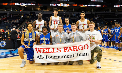 2018-19 Boys Basketball Class AA All-Tournament Team    Names of team members   Photo credit:  MN Prep Photo