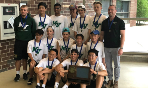 #1 Mounds View | Section 4AA Champion   Roster  |  Schedule / Results  |  Website   Team Twitter |  School Twitter  | Students Twitter | Team FB |  School FB   Quarterfinal Result: W, 7-0 vs. Lakeville South  Semifinal Result: W, 4-3 vs. Orono