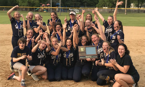 Mahtomedi | Section 4AAA Champion   Roster  |  Schedule / Results  |  Website  |  Media Guide    Team Twitter  |  School Twitter  | Students Twitter | Team FB |  School FB   Quarterfinal Result:  L, 4-5  vs. Becker  Semifinal Result:  W, 13-4  vs Detroit Lakes