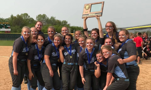 #3 Becker | Section 5AAA Champion   Roster  |  Schedule / Results  | Website |  Media Guide    Team Twitter  |  School Twitter  |  Students Twitter  |  Team FB  |  School FB   Quarterfinal Result:  W, 5-4  vs. Mahtomedi  Semifinal Result:  L, 2-8  vs. Northfield