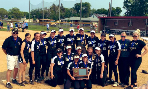 #3 East Ridge | Section 3AAAA Champion   Roster  |  Schedule / Results  |  Website  |  Media Guide    Team Twitter  |  School Twitter  | Students Twitter | Team FB | School FB  Quarterfinal Result:  W, 5-1  vs. Eden Prairie  Semifinal Result: L, 2-4 vs. Maple Grove