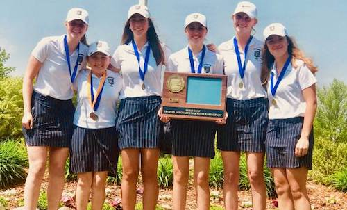 Providence Academy | Section 5AA Champion   State Tournament Roster:  Grace Petzold (8th) ,  Madie Anderson (JR) ,  Mae Monette (SO) ,  Malea Marxer (JR) ,  Marie Leggott (SO) ,  Mimi Meadows (JR)    Team Twitter |    School Twitter    | Students Twitter | Team FB |    School FB
