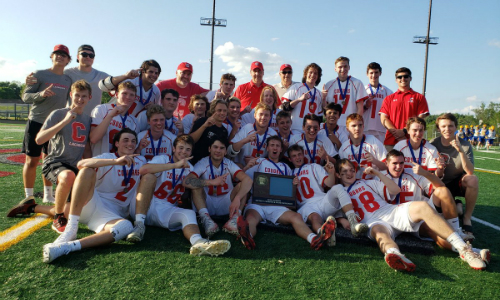 Centennial | Section 7 Champion    Roster  |  Schedule / Results  | Website |  Media Guide    Team Twitter  |  School Twitter  |  Students Twitter  | Team FB | School FB  Quarterfinals: Lost 4-8 vs Benilde-St. Margaret's |  Game Summary   Consolation Semifinals: Lost 10-15 vs. Mahtomedi |  Game Summary