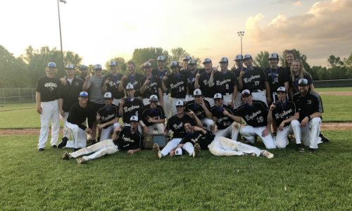 #5 East Ridge | Section 3AAAA Champion    Roster  |  Schedule / Results  |  Website  |  Media Guide    Team Twitter  |  School Twitter  | Students Twitter | Team FB | School FB  Quarterfinal: Won 9-5 vs. Mounds View |  Box Score   Semifinal: Won 6-5 vs. Stillwater (8 Innings) |  Box Score