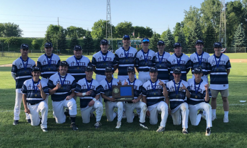St. Peter | Section 2AA Champion    Roster  |  Schedule / Results  | Website |  Media Guide   Team Twitter |  School Twitter  | Students Twitter | Team FB |  School FB   Quarterfinal: Won 11-3 vs. Foley |  Box Score   Semifinal: Lost 1-9 vs. Minnehaha Academy |  Box Score