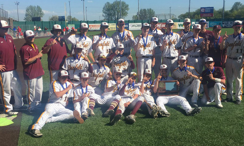 Duluth Denfeld | Section 7AAA Champion    Roster  |  Schedule / Results  | Website |  Media Guide    Team Twitter  |  School Twitter  |  Students Twitter  |  Team FB  |  School FB   Quarterfinals: Lost 4-5 vs. Monticello |  Box Score   Semifinal: Lost vs. Marshall 6-10 |  Box Score