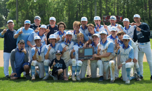 #2 Blaine | Section 7AAAA Champion    Roster  |  Schedule / Results  |  Website  |  Media Guide    Team Twitter  |  School Twitter  |  Students Twitter  | Team FB |  School FB   Quarterfinal: Lost 6-7 vs. New Prague |  Box Score   Consolation Semifinal: Lost 8-13 vs. Hopkins |  Box Score