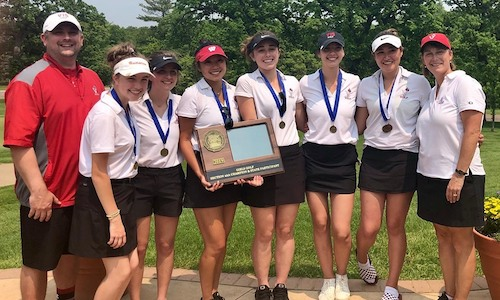 Class AA - 6th Place    Visitation | Section 4AA Champion   State Tournament Roster:  Anna Nickelson (JR) ,  Chloe Dobbs (SR) ,  Hannah Gorden (SR) ,  Kaileigh Vennewitz (JR) ,  Kira Johansen (SR) ,  Rachel Coss (SR)   Team Twitter | School Twitter |  Students Twitter  | Team FB |  School FB