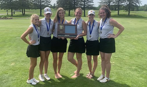 Forest Lake | Section 7AAA Champion   State Tournament Roster:  Brooke Odland (SR) ,  Emma Schaefer (SR) ,  Maddie Krieger (JR) ,  Megan Crawford (SR) ,  Reese Davids (SO) ,  Sami Boerboom (SO)    Team Twitter |    School Twitter    |    Students Twitter    |  Team FB  |    School FB