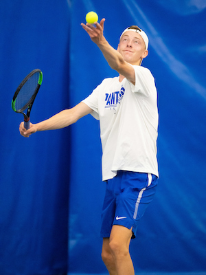Boys Class A Singles Champion    Parker Law    Mounds Park Academy    Photo Credit:    MN Prep Photo