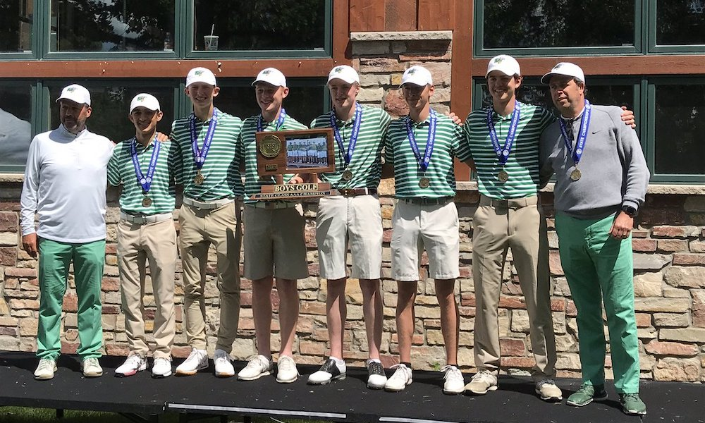 2018-19 Boys Golf  Class AA Team State Champion  Edina