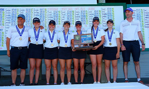 2018-19 Girls Golf  Class AA Team State Champion  Red Wing  Photo credit:  MInnesota Golf Association  |  Republican Eagle Story
