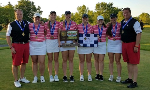 2018-19 Girls Golf  Class A Team State Champion  BOLD  Photo credit:  BOLD Facebook Page  |  West Central Tribune Story