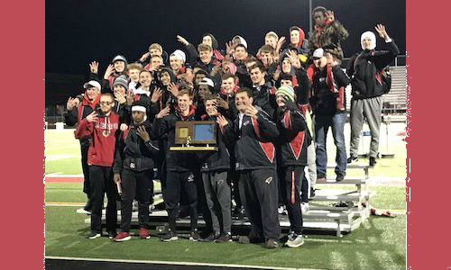 2018-19 Class AA True Team Champion    Willmar    Photo Credit:    Willmar Cardinal Swimming