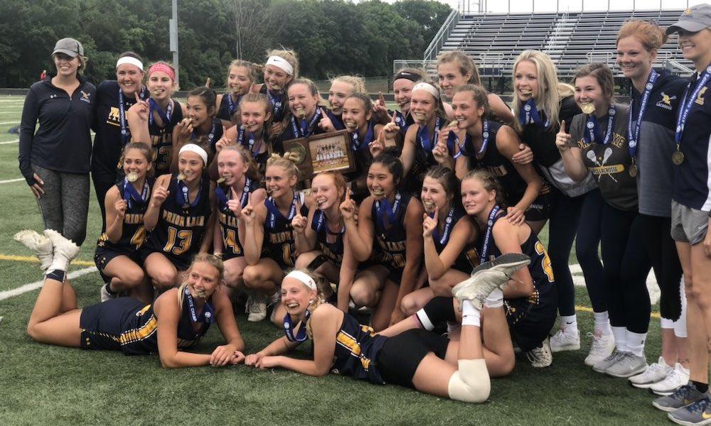 2018-19 Girls Lacrosse State Champion  Prior Lake  Photo Credit:  PL Lakers Twitter
