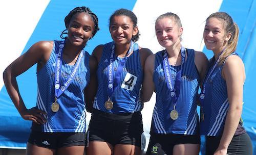 2018-19 MN Track & Field    4X200 Meter Relay    Minnetonka -  Ella Roach, Ashley Shields, Desiree Ware, Faith Robinson