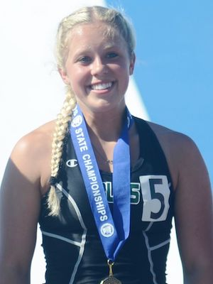 2018-19 MN Track & Field    100 Meter Dash   Maelea Harmon  Waterville-Elysian-Morristown