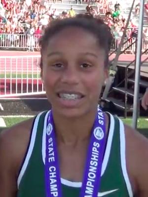2018-19 MN Track & Field    200 Meter Dash   Anisa Thompson  Blake